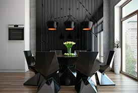 Dining Room Accessories 50 Dining Room Dеcor Ideas How To Use Black Color In A Stylish Way