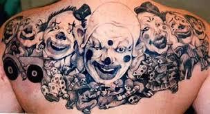 clown tattoos tattoo crafts