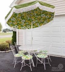 Umbrella Patio Sets 16 Vintage Homecrest Patio Set All Original Magically