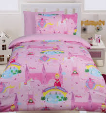 girls bedding horses fairy tale glow in the dark quilt cover set from kids bedding