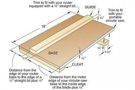 Wood Joints Router by Half Lap Joint Jig