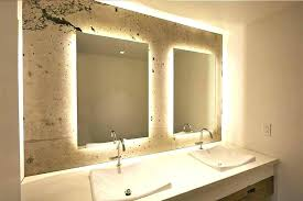 backlit bathroom vanity mirror backlit vanity mirror mirror bathroom full image for bathroom vanity