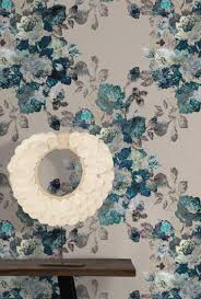 turquoise stone wallpaper bloom garden wallpaper by nina feathr