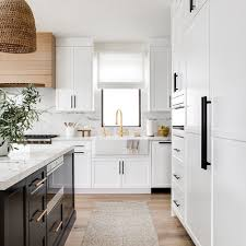 gray and white cabinets in kitchen 13 kitchens that prove white cabinets are a forever fave