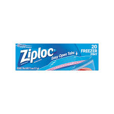 ziploc freezer bag pint 20 count pack of 12