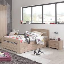 chambre enfant alinea naturela meubles lit enfant 90x200cm contemporain chambre d