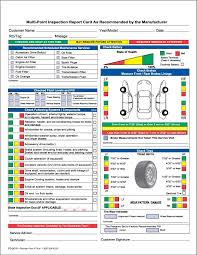 Vehicle Inspection Report Template Free by Amazon Com Auto Repair Multi Point Inspection Forms 2 Part Ncr