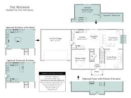 New Homes Floor Plans The Madison In Wheatland Farms Community Floor Plans In