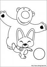 pororo coloring pages coloring book
