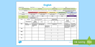 lesson plan template qld english template plan planning lesson plan weekly plan