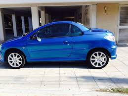 peugeot 206 2004 hatchback 1 6l petrol manual for sale limassol
