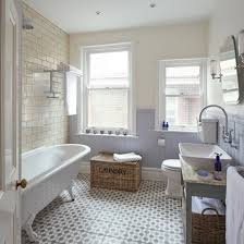period bathrooms ideas shabby chic bathroom with period style sanitaryware and lilac