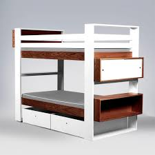 Scoop Bunk Bed Furniture Lillylolly Scoop Bunk Bed Glamorous Modern Beds