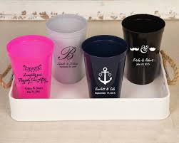 personalized plastic cups many designs available