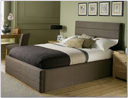 Beds Frames And Headboards Bedding Splendid King Bed Frame With Headboard Brown Bed