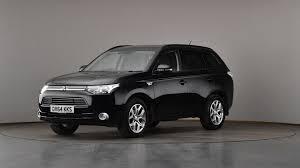 black mitsubishi outlander sport used mitsubishi outlander 2 0 phev gx3h 5dr auto leather black