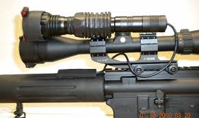 hunting lights for ar 15 new light set up for my ar 15 predatormasters forums