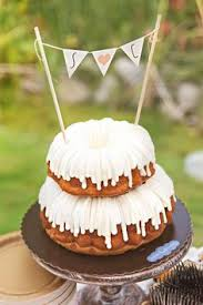 what a pretty cake for a shower reception party nothing bundt