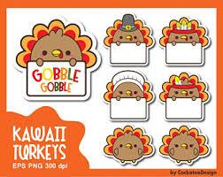 kawaii turkey etsy