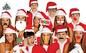 Christmas Photo Booth Props Set 12 Pieces Candy Cane Christmas Christmas Photobooth Photo