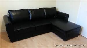 Corner Leather Sofa 20 Inspirations Leather Sofa Beds With Storage Sofa Ideas