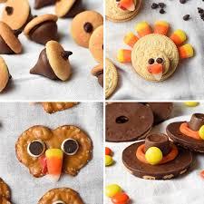 easy no bake thanksgiving treats