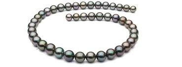 colored pearls necklace images Types of pearls freshwater akoya tahitian and south sea pearls jpg