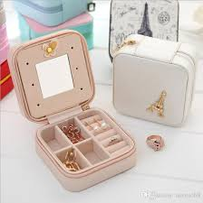 travel jewelry case images 2018 jewelry boxes for women travel jewelry organizer portable pu jpg