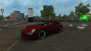 porsche 911 mods porsche 911 1 27 x ets 2 mods truck simulator 2 mods