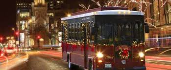 chicago trolley holiday lights tour trolley holiday lights tour