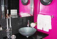 Purple And Gray Bathroom - extraordinary purple bathroom accessories walmart tile stickers