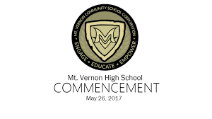 mt vernon high commencement 2017 youtube
