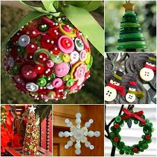 wonderful diy button ornaments
