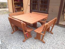 Luxcraft Poly Octagon Picnic Table Swingsets Luxcraft Poly by 4 U0027 X 4 U0027 Square Picnic Table Set Cl Amish Yard