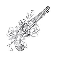 Gun Coloring Pages For The Little Adventurer In Your House Call Of Duty Black Ops Coloring Pages