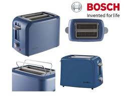 Kenwood Kmix Toaster Blue Bosch Village Collection 2 Slice Toaster U2013 Blue Tat3a022gb