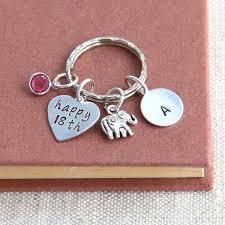 personalized birthstone keychains 18st birthday gift personalized birthstone keychain 18st