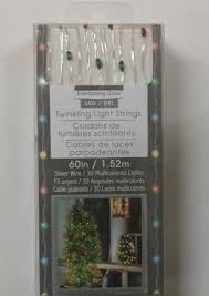 everlasting glow led lights everlasting glow multi color twinkling led christmas light string