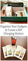 charging station diy organize your gadgets u0026 create an easy charging station finding