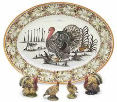 ceramic turkey platter an italian ceramic turkey platter and two sets of turkey form
