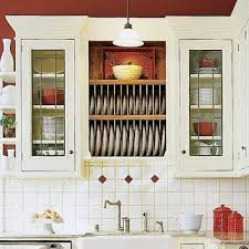 kitchen cabinet plate rack 28 thrifty ways to customize your kitchen plate racks fiestas and