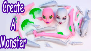 create a monster high doll werewolf dragon add on starter pack cam