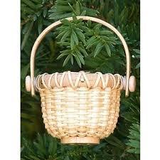 miniature nantucket basket ornament items coha