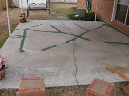 Slab Patio Makeover by Modern Patio Repair And Deck Tips Fix Concrete Cracks And Replace
