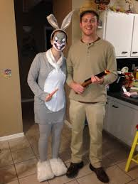 granny halloween costume ideas bugs bunny and elmer fudd costume holidaze pinterest elmer