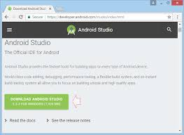 developer android sdk index html installing and configuring android studio
