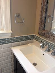 design bathroom subway tile backsplash backsplash tile ideas for