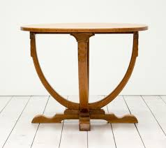 Oak Side Table Vintage Deco Oak Side Table For Sale At Pamono
