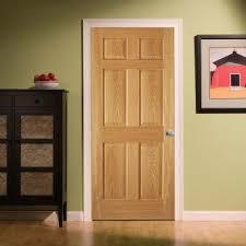 steves u0026 sons 6 panel unfinished red oak interior door slab with