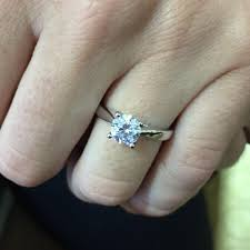 ritani reviews ritani solitaire diamond cathedral tapered engagement ring with